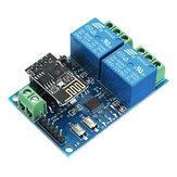 12V ESP8266 Module de relais WiFi double Internet des choses Smart Home Mobile APP Remote Switch