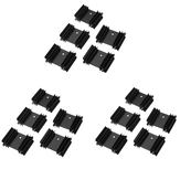 15Pcs 34*12*25 Plum Blossom Radiator Heat Sink for TO-220 Package Dedicated YV25