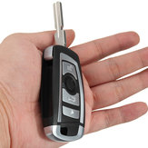 4 Buttons 433MHZ Modified Floding Remote Key Without 7935AA ID44 Chip For BMW