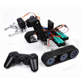 SNAR20 DIY RC Robot Arm Tank acryl met PS2 Stick