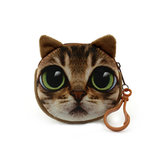 Cute Animal Cat Stuffed Plush Toy Handbag Chain Doll Toy Gift Collection