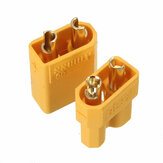 1Pair XT30 2mm Golden Pria Female Plug Interface Connector