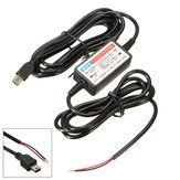Car DVR Exclusive Power Box Adapter DC Power Cable 3m 12V to 5V Universal