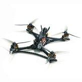 HGLRC Wind5 Lite 5Inch 6S 208mm RC FPV Racing Drone Zeus F722 MINI Flight Controller 45A BLHeli_32 3-6S 4 In 1 ESC 2207.5 Blue Motor w/Predator 5 Version Camera