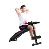 KALOAD 250KG Bearing Home Aufsetzen Sit-ip Bank Faltbares Fitness Board Dumbell Bank Abdominal Exerciser
