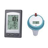 Inalámbrico Control remoto Flotante Termómetro Natación Piscina Bañera de hidromasaje Spa Medidor de temperatura