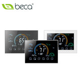 BECA BHP-8000 WIFI Heat Pump Smart Thermostat WIFI Controller LCD Screen Programming Controller For Smart Home