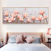DIY 5D Diamond Painting Magnolia Flower Art Craft Kit Handmade Needlework Wall Decorations Gifts for Kids Adult