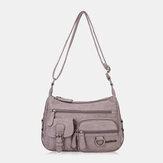 Frauen wasserdichte Handtasche mit mehreren Taschen Umhängetasche Umhängetasche