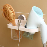 Bathroom Punch Free Multifunctional Hair Dryer Rack