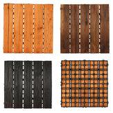 30x30cm DIY Wood Patio Interlocking Flooring Decking Tile Indoor Outdoor Garden Floor Decorations