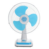 110V 45W 16inch Portable Table Desktop Electric Fan With Timer Function 3-Gears Energy-saving Household Fan