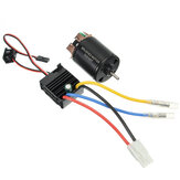 540 Motor 60A ESC Carbon Brushed Shaft 3.175mm Do 1/10 RC Car