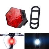 BIKIGHT USB Recarregável Luz Traseira Da Bicicleta À Prova D 'Água Ultra Brilhante LED Luzes de Bicicleta para MTB Road Bike