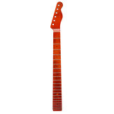 21 Frets Vintage Electric Guitar Neck Canadian Maple Wood Fingerboard Paint Bright Light For Fender TL Tele Guitar Accessories