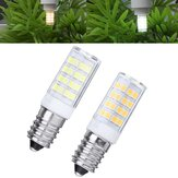 AC110-240V E14 5W 2835 No Stroboscopic 52 LED Ceramic Corn Light Bulb for Indoor Home Decoration