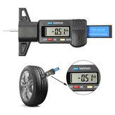 Audew 0-25.4mm LCD Jauge de profondeur de bande de roulement de pneu de véhicule numérique étrier de mesure outils de réparation de pneu
