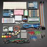 Geekcreit® UNOR3 Basic Learning Starter Kits Upgrade-versie voor Arduino