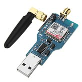 USB to GSM Serial GPRS SIM800C Module With bluetooth Sim900a Computer Control Calling With Antenna