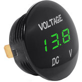 DC 12V-24V Universal Digital LED Display Voltmeter Voltage Meter for Car Motorcycle Auto Truck