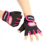 KALOAD 1 Pair Fitness Gloves Anti-slip Half Fingers Gloves Sport Exercise Training Gym Gloves