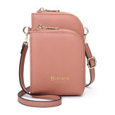 Brenice  Women Multi-Slot Comestic Crossbody Bag