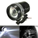 12V 30W Motorfiets U3 LED Angel Eye Driving Mist Spot koplampen Hi / Lo Flash Lamp