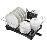 Stainless Steel Cookware Drying Rack Kitchen Dish Drying Rack Tableware Drainer Plate Cup Drain Storage Holder Plates Cup Tool