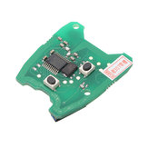 433MHz Remote Key PCB Circuit Board For Peugeot 307 / Citroen 73373067C