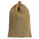 كبيرهسهالجوتكيسالحبوبكيس كيس الرمل تنتج المطبخ تخزين حقيبة 60x90cm