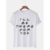 Camisetas de manga corta casuales divertidas para hombre con etiqueta pequeña