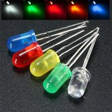 50Pcs 5mm Round Red Green Blue Yellow White Color Diffused LED Light Diode Lamp