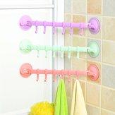 Mocne przyssawki typu Lock Hook Kitchen Bathroom Wieszaki na ręczniki