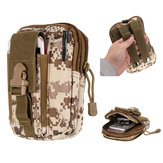 6 Inch Outdoor Sport Mobile Phone Case Tactical Waist Bag for Iphone Xiaomi