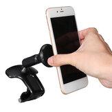 Suporte magnético universal para telefone para carro com rotação de 360 ° Suporte para montagem de clipe de painel no carro