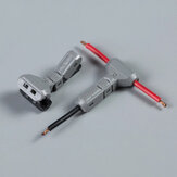 T-2 18AWG 0.75sqmm Car Connectors Terminals Non-stripped T Type Wire Cable Connector Joint Quick Splice Crimp