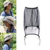Naturehike NH19F005-Z Anti Mosquito Insect Net Hat Mask Head Face Guard Protector Cap Cover Suncreen