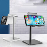 Bakeey Universal Desktop Height Adjustable Telescopic Phone Holder Phone Mount Tablet Stand For 4.0-12.9