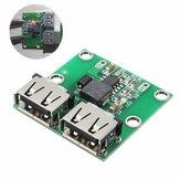 3 unidades de saída USB dupla 6-24 V a 5,2 V 3A DC-DC Conversor de módulo carregador de potência escalonado