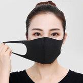 3 قطع قابل للغسل الغبار قناع الوجه الإسفنج بالضباب حماية Soft تنفس عالية المرونة