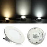 3W Round Ceiling Ultra Thin Panel LED Lamp Down Light Light 85-265V