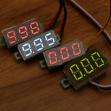 Geekcreit® 0.28 Inch Two-wire 2.5-30V Three-wire 0-100/500V Digital Display DC Voltmeter Adjustable Voltage Meter