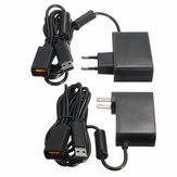 2.3m USB AC Adapter Power Supply Cable for Xbox 360 Kinect Sensor EU/US Plug