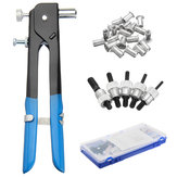 Pop Riveter Gun Rivet Hand Parçalar Set Kit, 100Pcs Somun Ekler + 5 Adet Mandren ve 737.9960