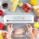 XianLi Food Vacuum Sealer Machine Touch Screen One Key Operation Strong Suction Preservation Vacuum Lock Fresh Moistureproof Mildew Proof With Slide Knife