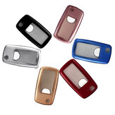 Soft TPU Car remoto Smart Key Fob Custodia / Custodia Shell per VW Golf GTI Passat Jetta posto a sedere Altea