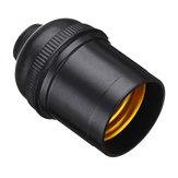 AC250V E27 4A Glühbirne Adapter Fassung Halter Edison Schraubkappen Sockel