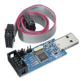 3pcs 3.3V / 5V USBASP USBISP AVR Programador Downloader USB ISP ASP ATMEGA8 ATMEGA128 Suporte Win7 64K Over-Current Proteção Função Com Download Cable