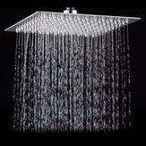 15x15cm 6 Inch Square Water-saving Pressurized Top Spray Rain Rainfall Shower Head 201 Stainless Steel