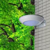 16 LED Solar Powered Radar Motion Sensor Wall Light Outdoor Waterproof Security Street Lamp